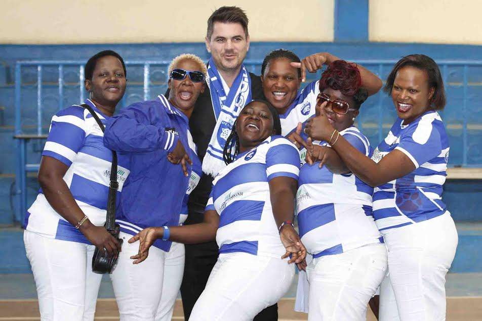 AFC Leopards divas came out in large numbers to witness the signing of a three year contract with betting firm Betway