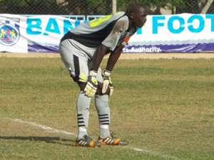 Bandari goalkeeper Wilson Obungu