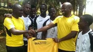 Wazito appoint Frank Ouna