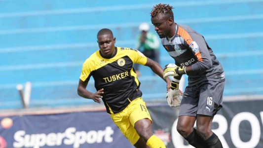 Tusker looked the brighter side as Michael Khamati failed to score past Sammy Okinda