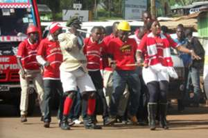 Shabana fans will watch their team face Posta Rangers on Monday