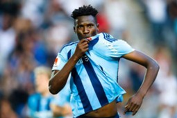 Kenya striker Michael Olunga