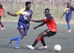 AFC Leopards striker Lamine Diallo