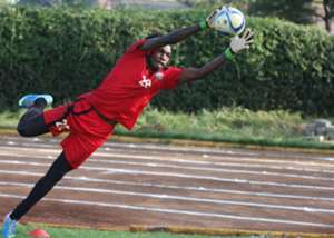 AFC Leopards goalkeeper Lucas Indeche