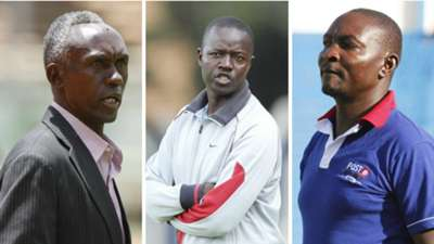 KPL coaches - Otieno Ouma and Omino