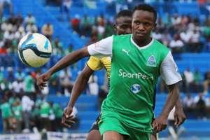 Gor Mahia midfielder Francis Kahata v Sofapaka
