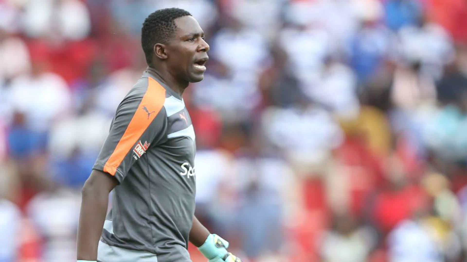 Gor Mahia keeper Boniface Oluoch put up a good display against AFC Leopards
