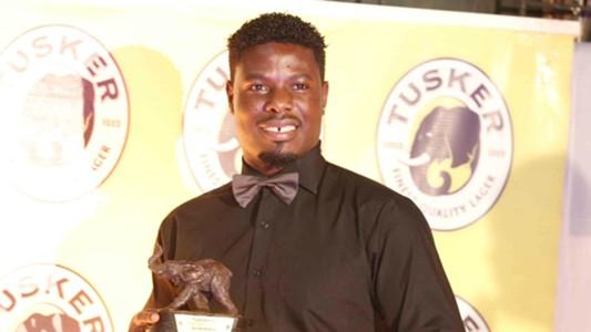 Tusker striker Allan Wanga