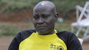 Tusker coach Paul Nkata