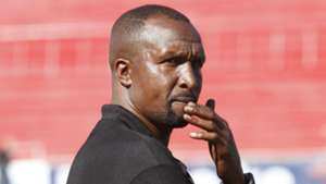 Ushuru FC coach Ken Kenyatta in a past league match