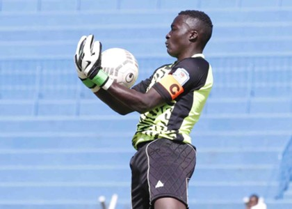 AFC Leopards goalkeeper Ian Otieno