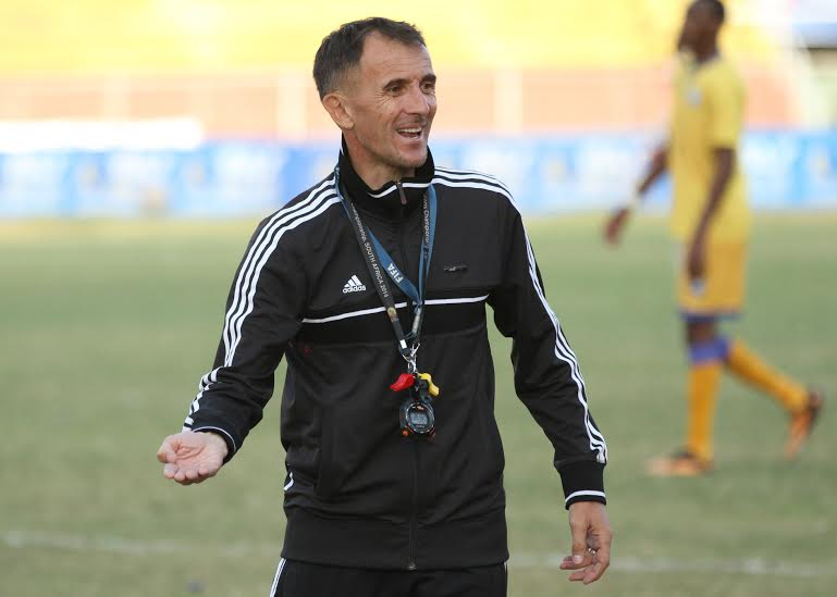 Milutin 'Micho' Sredojevic is welcomed back as coach of Orlando Pirates