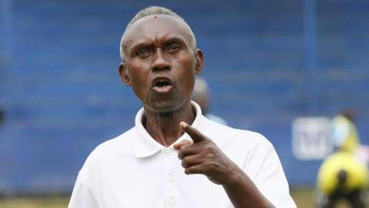 Western Stima head coach Henry Omino
