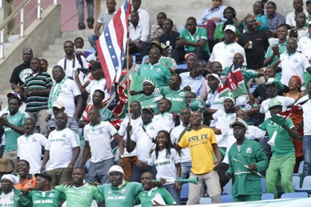 Gor Mahia fans during a past match