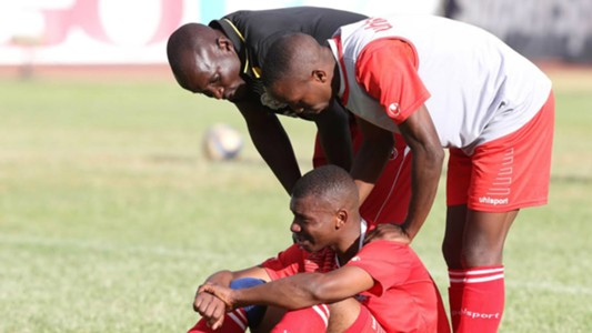 Dissappointed Ulinzi Stars after losing GOtv Shield final by a solitary goal to Tusker FC
