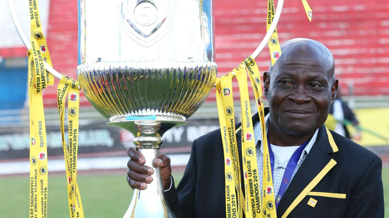 Tusker coach Paul Nkata was a happy man at the final whistle after winning a double
