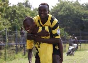 Chemelil Sugar celebrates against Sofapaka