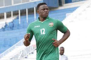 Kenyan captain Victor Wanyama trains at Nyayo Stadium on Tuesday