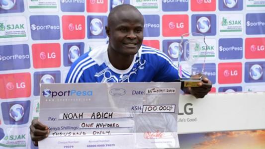 Sofapaka defender Noah Abich
