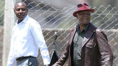 Legendary Joe Kadenge arrives at Camp Toyoyo before he collapsed while watching KCB v Nzoia Sugar