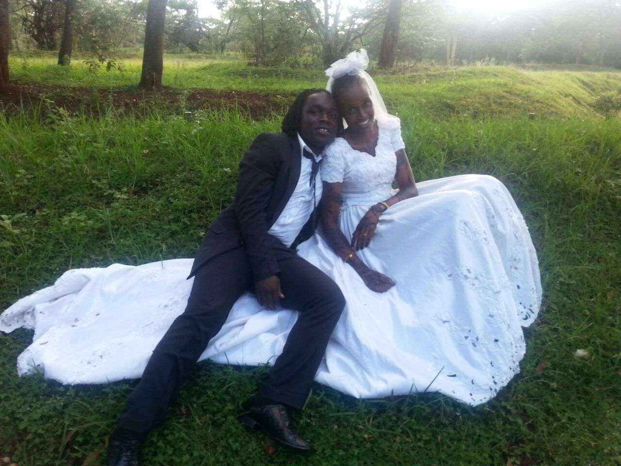 Uganda and Simba SC striker Dan Sserunkuma returned to Kenya on Saturday to wed Tumme Golicha Galgallo
