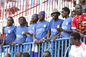 Bandari fans at Nyayo Stadium