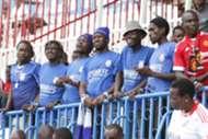 Bandari fans at Nyayo Stadium