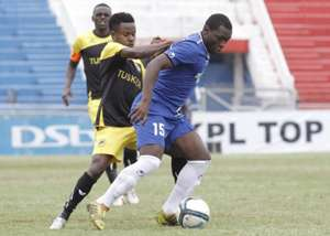 Tusker's Timonah Wanyonyi v Humphrey Okoti of Bandari