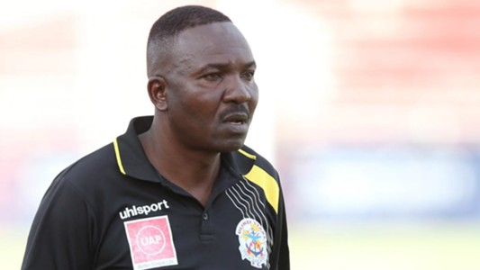 Ulinzi Stars coach Benjamin Nyangweso was in shock as Tusker claimed the trophy