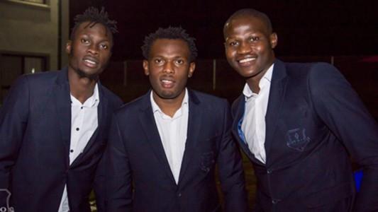 Jesse Were David Owino and Anthony Akumu during the gala