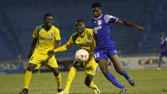 Mathare United star Robinson Kamura