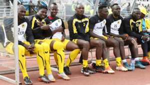 Top striker Allan Wanga and goalkeeper David Okello were among those benched by Tusker