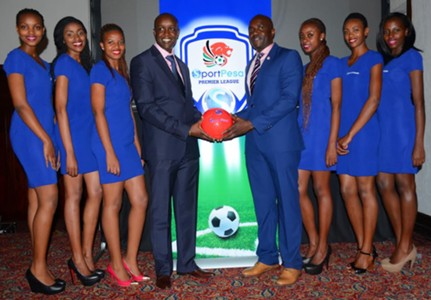 KPL CEO Jack Oguda during the unveiling of SportPesa sponsorship