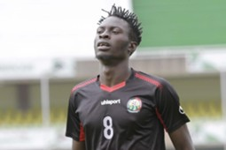 Harambee Stars striker Jesse Were