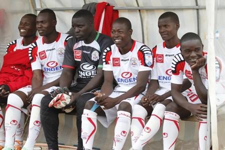 Ulinzi Stars players