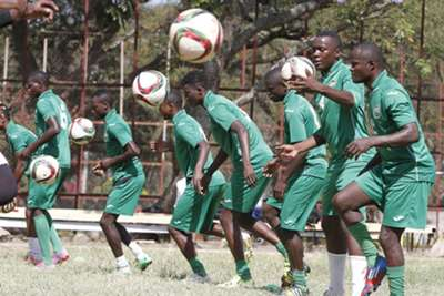 Harambee Stars trained on Tuesday as they plotted the downfall of Burundi in their second Group 'B' match of Cecafa in Ethiopia