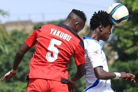 AFC Leopards midfielder Ramadhan Yakubu v Thika United