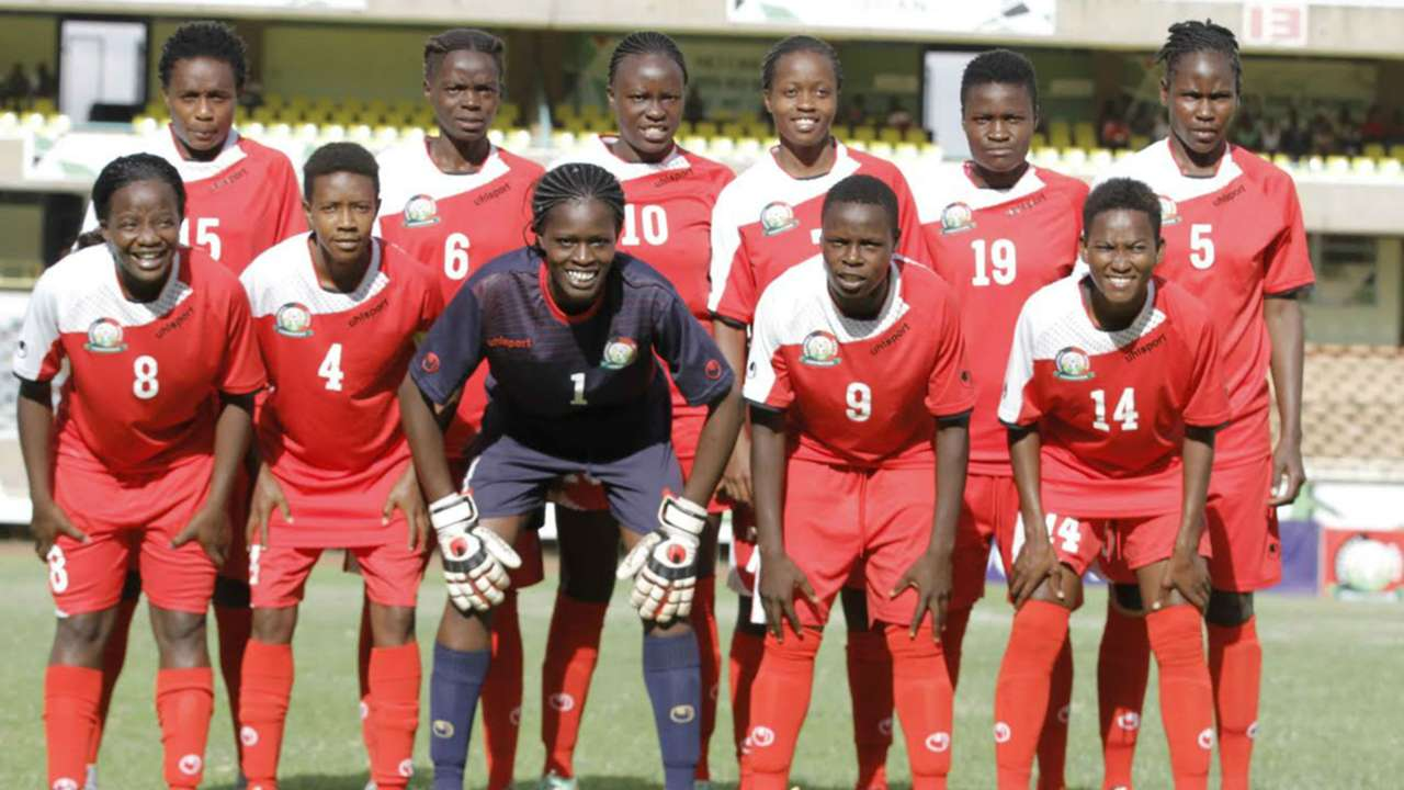 Harambee Starlets paraded a strong side to take on Cameroon in a friendly on Saturday