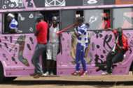 AFC Leopards fans arrive in Kisumu for their match against Muhoroni Youth
