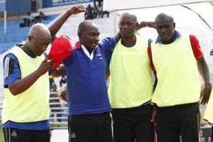 Posta Rangers technical bench led by coach Zedekiah 'Zico' Otieno