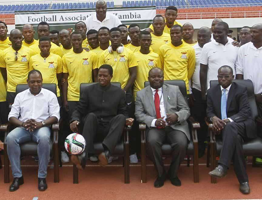 President Edgar Chagwa Lungu has encouraged the Zambia national soccer team to win Sunday's Afcon qualifier against Kenya