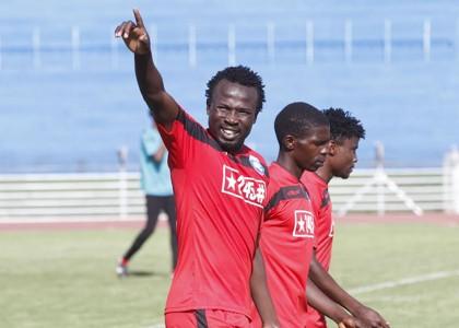 AFC Leopards striker Kepha Aswani