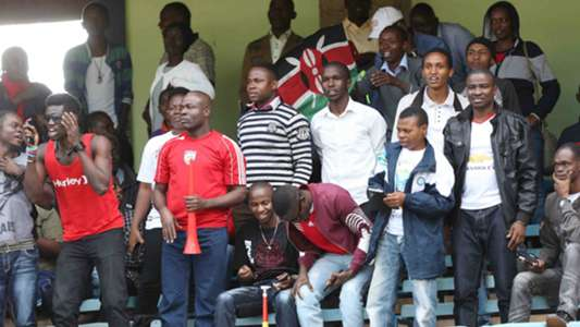 Harambee Stars fans turned out in large numbers to cheer the team