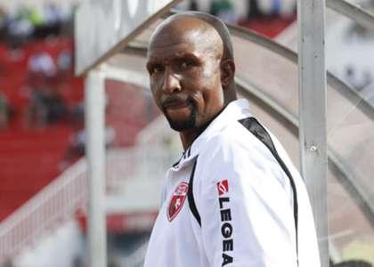 Ushuru FC coach Ken Kenyatta against Gor Mahia.