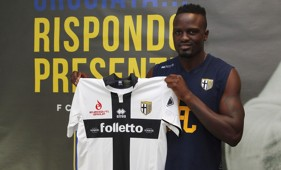 Kenyan ace Mariga signs for Parma again.