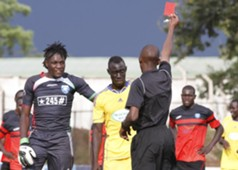 Goalkeeper Lukas Indeche was however red carded by referee Amos Ichingwa with minutes to final whistle