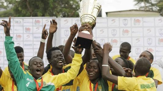 Mathare United U-20 team celebrates after winning December edition