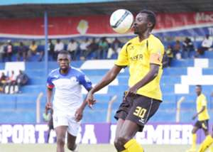 Tusker midfielder Humphrey Mieno v Sofapaka on Saturday