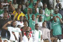 Gor Mahia fans at Afraha Stadium in Nakuru