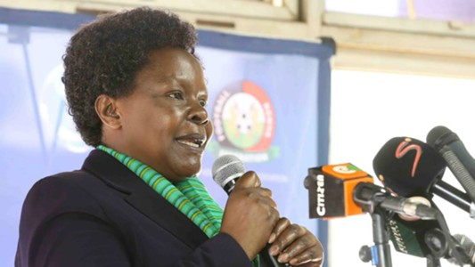 FKF Vice-President Doris Petra will lead the team to Cameroon as Head of Delegation